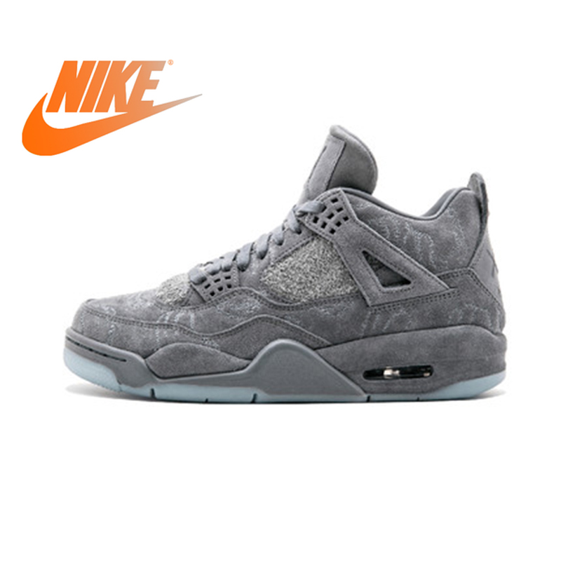 Nike Air Jordan 4 Retro Kaws AJ4 Men's Basketball Shoes Sport Sneakers Athletic Designer Footwear 2018 New Jogging 930155