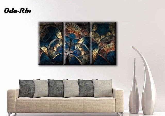 Colgar un cuadro comedor americano tipo de Europa pintura abstracta ...