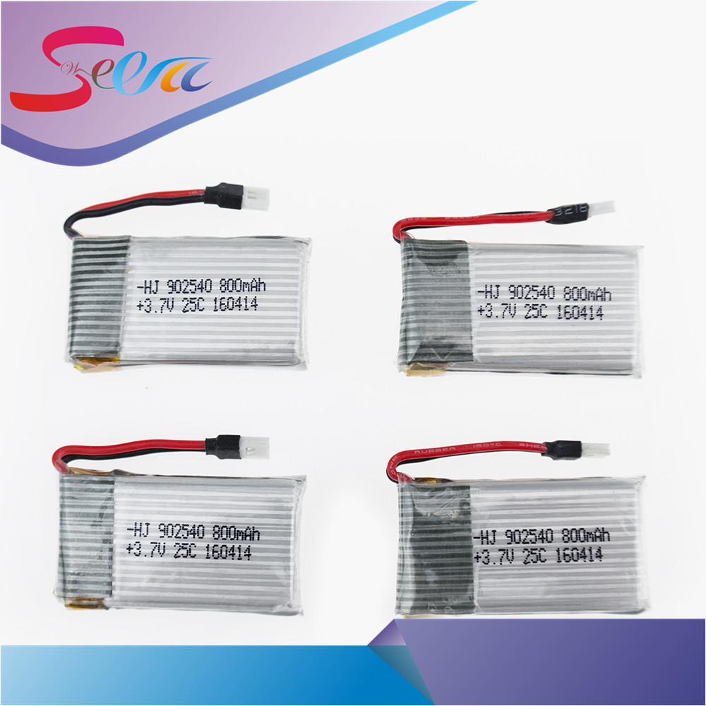 Syma X5C X5SC X5SW X5C-1 V931 H5C CX-30 CX-30W 4PCS 800mAh battery and charger Quadcopter Spare Parts With 3.7V X5C Battery 3pcs battery and european regulation charger with 1 cable 3 line for mjx b3 helicopter 7 4v 1800mah 25c aircraft parts