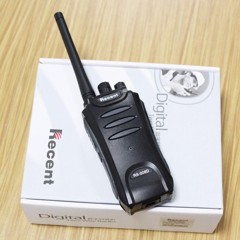 Small DPMR 2w Radios Transceiver Digital Radios Portatiles UHF 400-470MHz  RS208D Two Way Radio Communications W/ Accessories