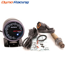 Dynoracing 60mm Car Auto Air Fuel Ratio Gauge & Narrowband Oxygen Sensor O2 Rear For 01-06 Hyundai 2.0L Meter