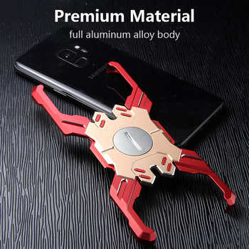For Samsung S9 Plus Case Cover Luxury Hard Metal Aluminum Alloy Shockproof Armor Bumper Phone Case for Samsung S9 Back Cover