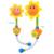 Niños Piscina Juguetes Nuevo Bebé de Juguete de Baño de Girasol Baño de Ducha Grifo de la Ducha 0-12 Meses de Aprendizaje de Juguete de Regalo amarillo Verde