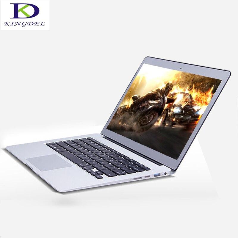 Big Promotion Ultraslim Bluetooth notebook Intel Celeron 2957U dual core with HDMI Webcam WIFI Windows 10 laptop 13.3'' 8G 256G