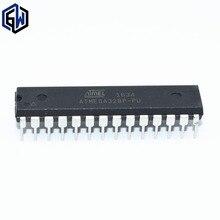 10 pçs/lote ATMEGA328P PU CHIP ATMEGA328 328P Microcontrolador AVR MCU 32K 20MHz FLASH DIP 28 ATMEGA328P U