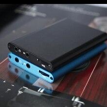 Stereo müzik kulaklık amplifikatörü Mini kulaklık kulaklık ses amplifikatörü 3.5mm Jack dahili pil