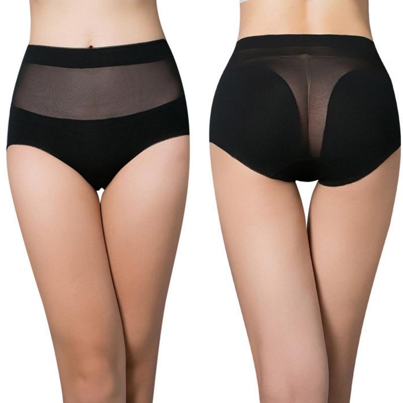 Women's cotton briefs hollow out high waist   panties   cotton underwear girl underpants lingerie