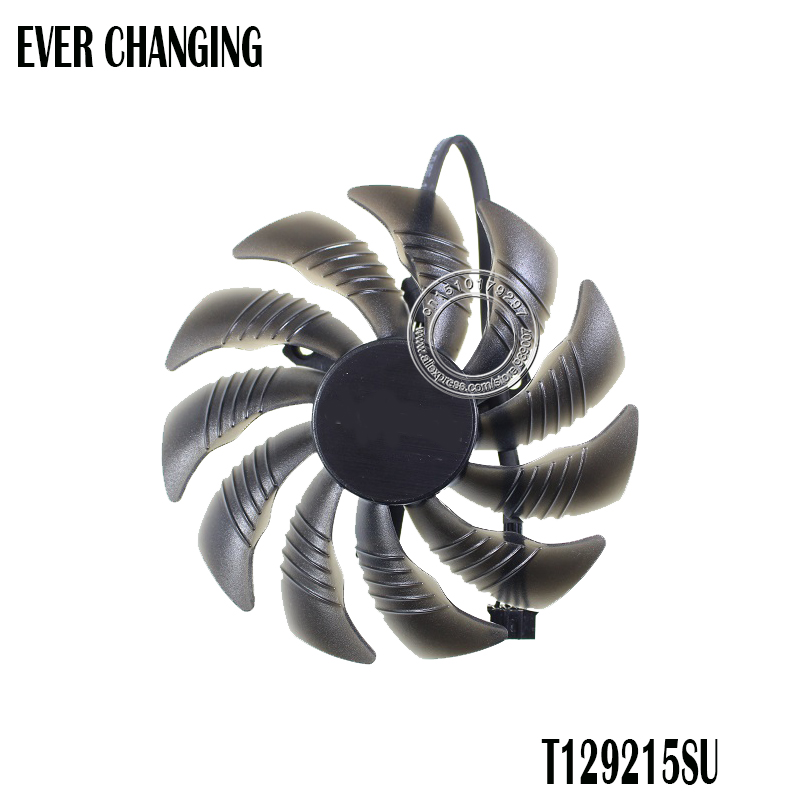 PLD09210S12HH T129215SU Graphics Card Cooling Fan For Gigabyte GTX 1080/1060/1070 gtx1070 GTX1060 Mini ITX Cards as Replacement image