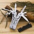 22 Multifunktionale Faltung Messer Zange Tasche EDC Werkzeuge Angeln Zangen Outdoor Survival Kombination Multitools Camping Messer-in Zangen aus Werkzeug bei