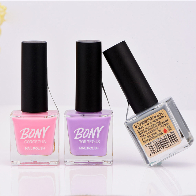 10ml Nail Polish Clical Series Stamping Gel Bright Gorgeous Quickly Dry Fluorescent Gloss 30 Pure Sweet