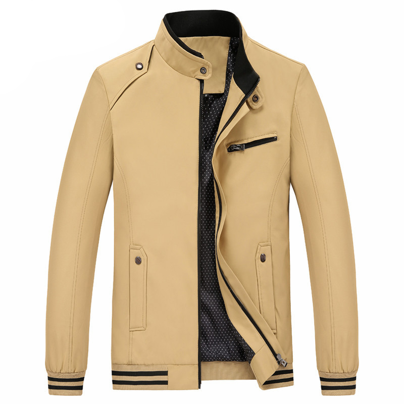 unisplendor 2017 мужчины классический пиджак мужская мода случайные молния куртки осень теплая регулярные пальто xxxxl мужской верхней одежды пальто yn837