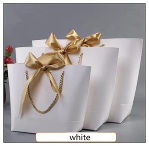 manshii box for packaging kraft paper gift bag with handles