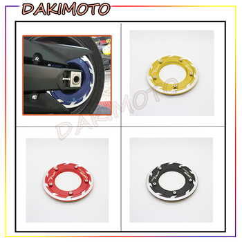 for YAMAHA TMAX530 TMAX 530 2017-2018 CNC Aluminum  Motorcycles Accessories Transmission Belt Pulley Cover with logo