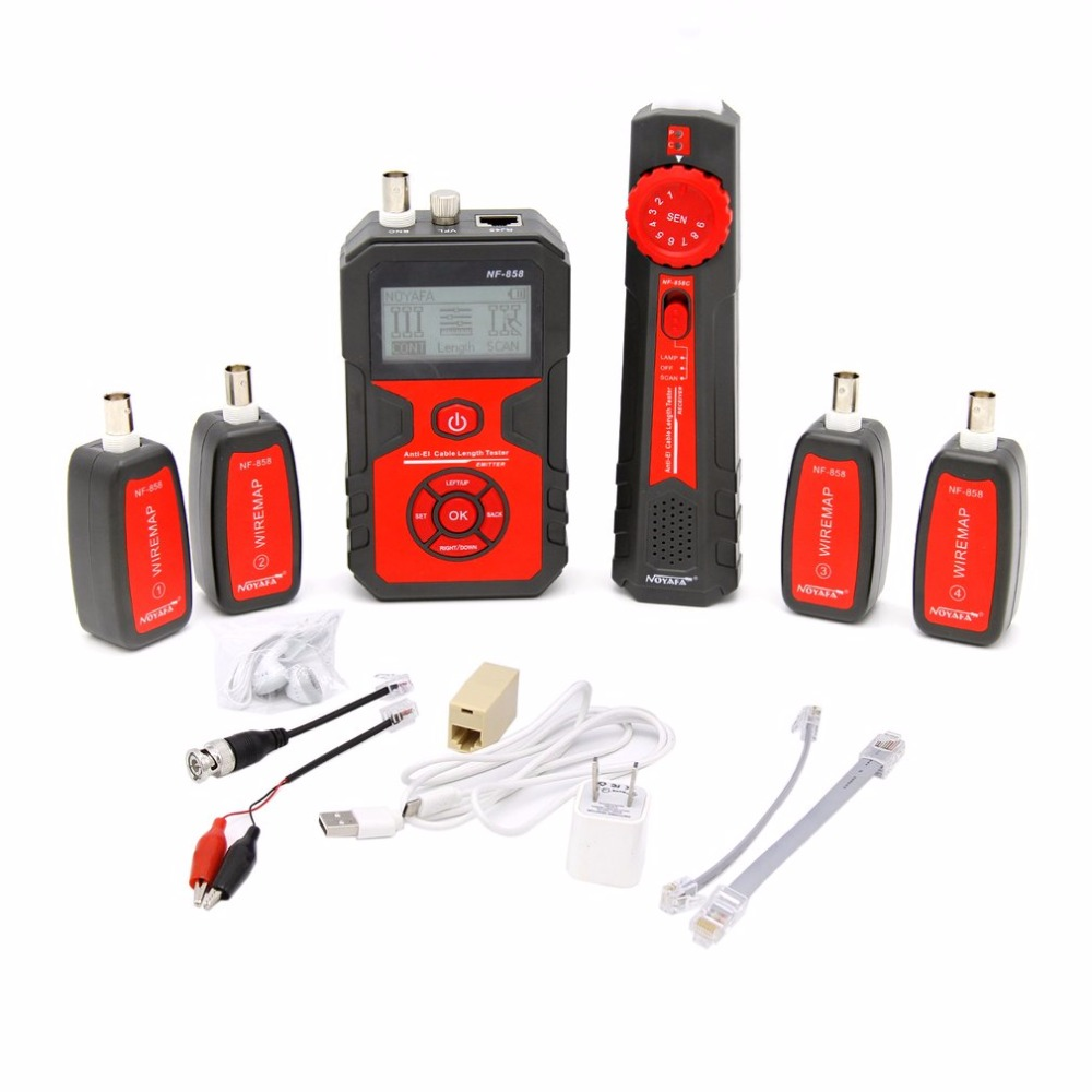 NF 858 Network Cable Line Locator Portable Wire Tracker Cable Tester ...