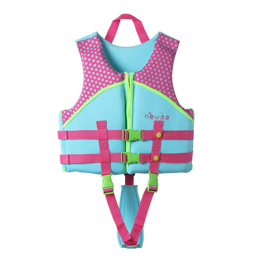 98cd27da4 Newao niños chaleco salvavidas natación surf niños natación chalecos  salvavidas niños waterski neopreno traje de baño