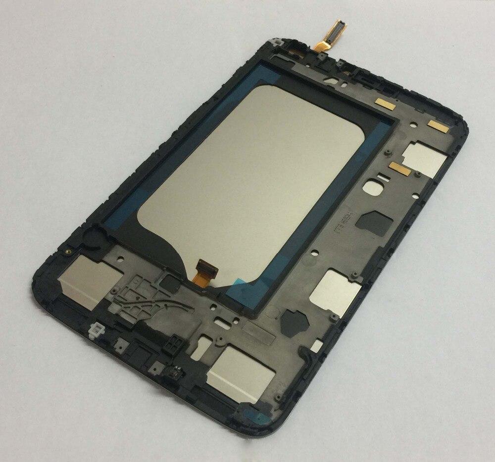 Pour Samsung Galaxy Tab 3 8.0 SM-T310 T310 LCD panneau d'affichage moniteur T310 LCD écran tactile numériseur capteur assemblage avec cadre