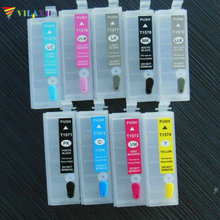For Epson Stylus R3000 Printer Refillable Ink Cartridge For Epson T1571 T1572 T1573 T1574 T1575 T1576 T1577 T1578 T1579 epson t1572