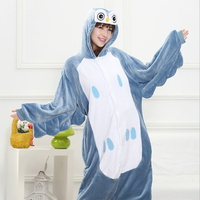 20 Styles All In One Flannel Anime Pijama Cartoon Cosplay Warm Hood Onesies Sleepwear Adult Unisex