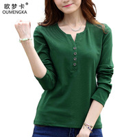 Tee Shirt Femme Autumn Long Sleeve Tshirt Women T Shirt Womens Tops Fashion 2016 Poleras De
