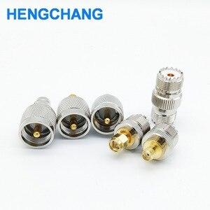 Image 3 - SL16 M type UHF to SMA PL259 to BNC SO239 to SMA RF connectors adapter 6pcs/lot