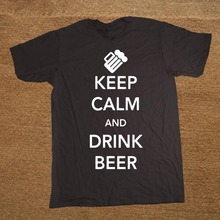 """Super cool """"Keep Calm and Drink Beer"""" t-shirt"""
