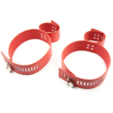 Leather Adjustable Hand Cuffs Locking Hands To Thighs Harness Bdsm Bondage Couples Sex Toys