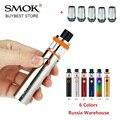Original Smok Vape Pen 22 Kit con batería incorporada de 1650 mah tanque sin fugas cigarrillo electrónico vape kit w /0.3ohm de doble núcleo
