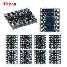 10 adet 3 5V 4 kanal mantık seviye dönüştürücü çift yönlü Shifter modülü IIC