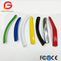 328ft 100m Length 16mm /19mm Width Plastic T Molding T Moulding For Arcade MAME Game Machine Cabinet Chrome / Gold / Black