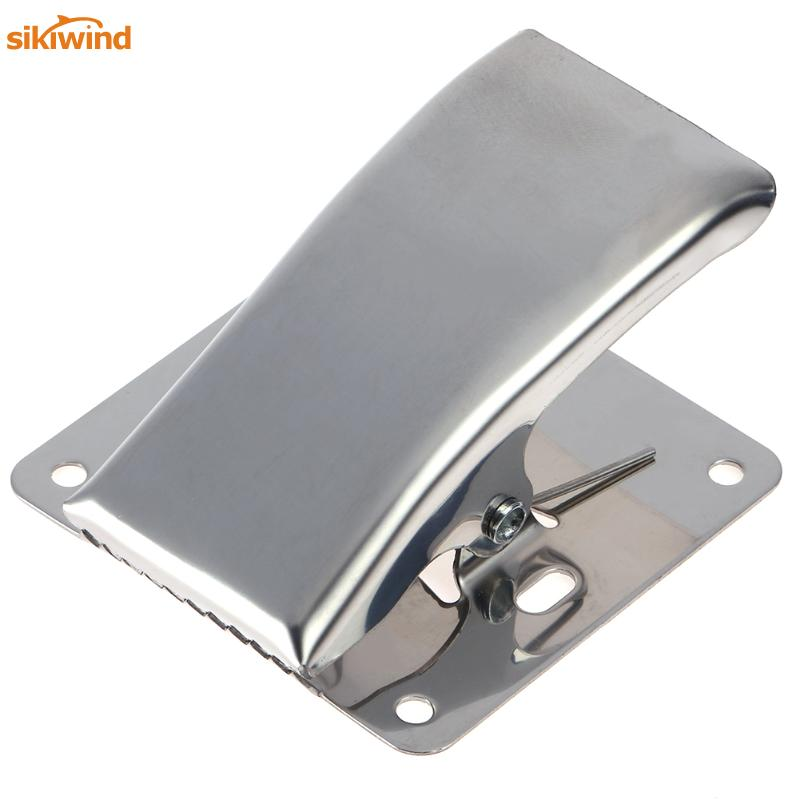 Sikiwind roestvrij staal Deep-kaak Fish Tail Clip Fish Cleaning Clamp - Visvangst