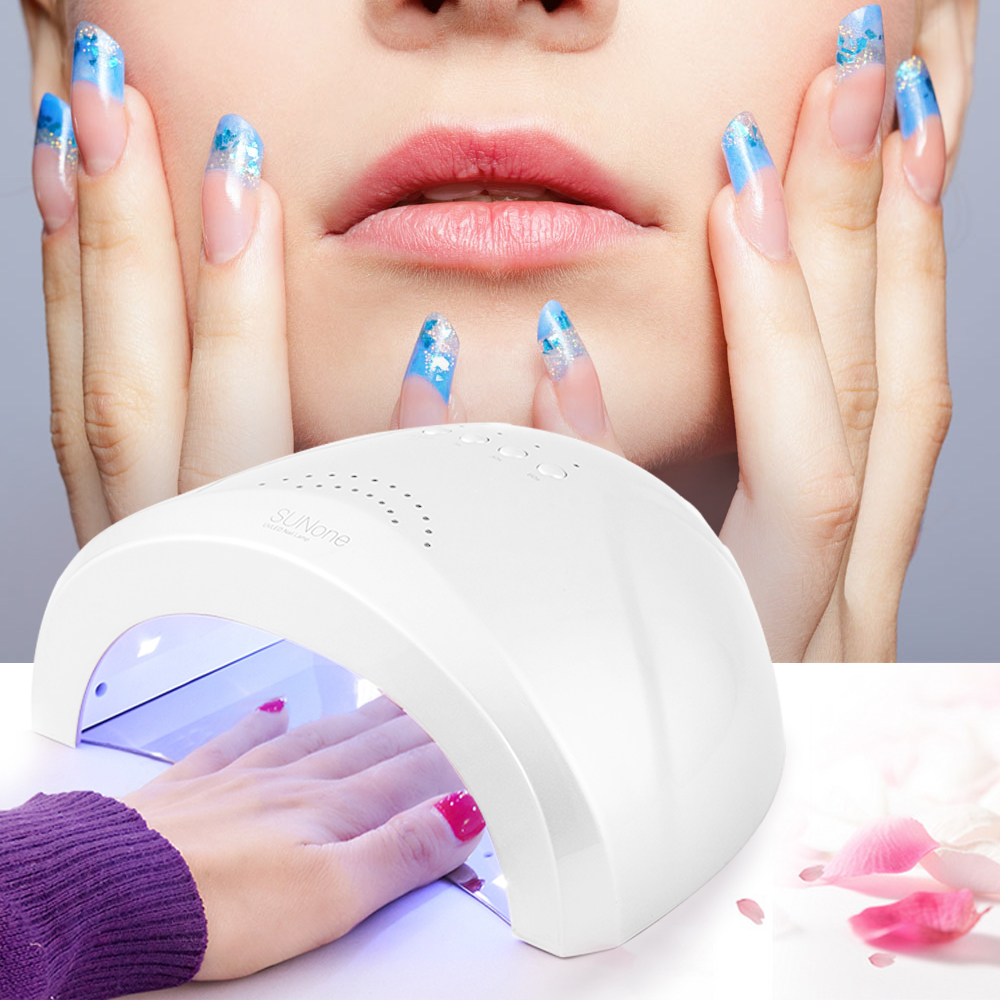 Professional Gel Nail Dryer 48W LED UV Lamp Nail Dryer Polish Nail New Art Tool Curing Light UV Gel Polish Manicure Drying Tools 12w led nail dryer curing lamp machine nail art tool automatic timer for uv gel nail polish fast drying new style top quality