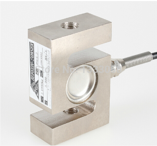 S TYPE Beam Load Cell Scale Sensor Weighting Sensor 1000kg 22CWT With Cable asdsa