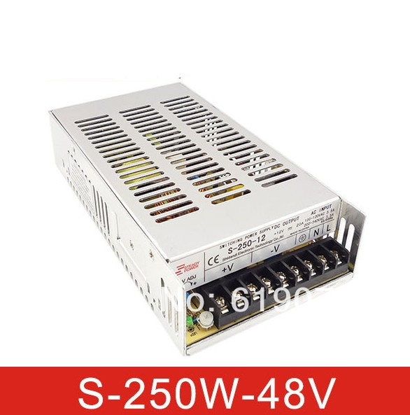 201W 48V Single Output Switching power supply for  FSDY  AC to DC led