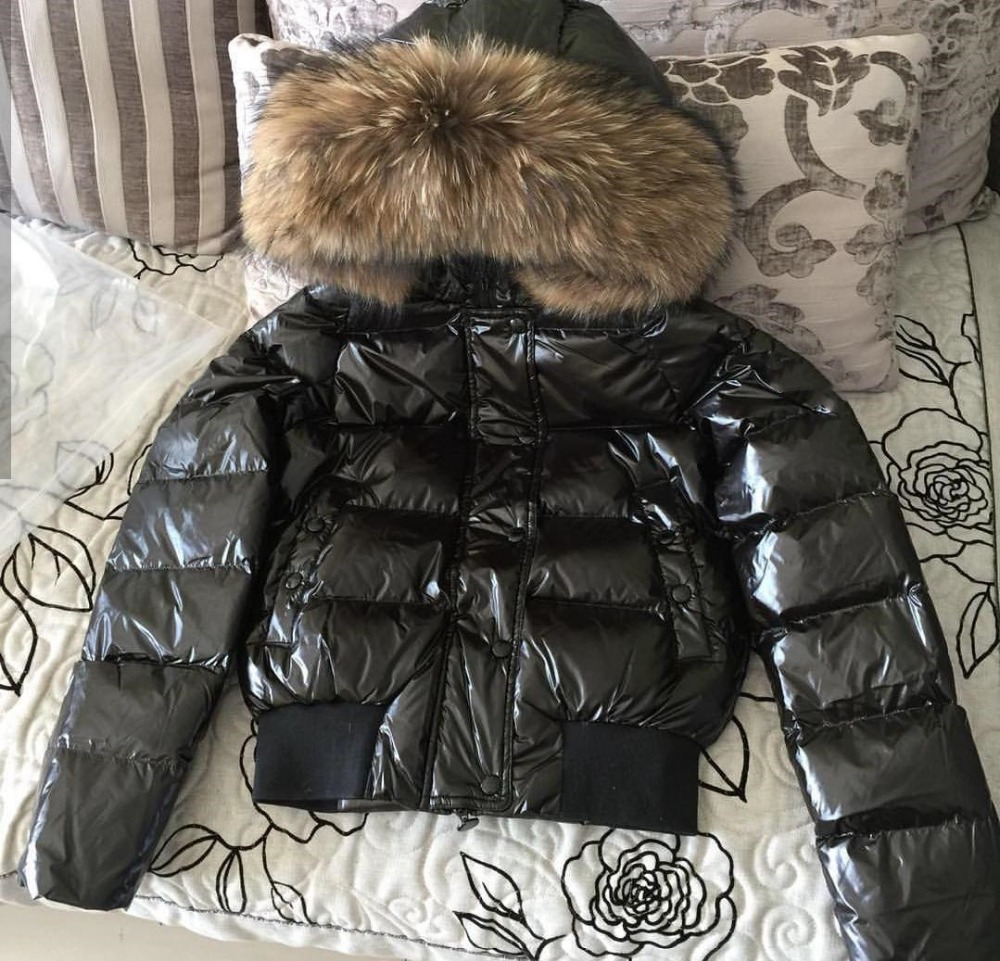 New Fashion Winter Down Jacket Warmer And Super High Quality Fur Outwear