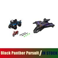 Compatible Lego Marvel 76047 Models Building Toy Super Heroes Movie Black Panther Pursuit 07033 Building Blocks