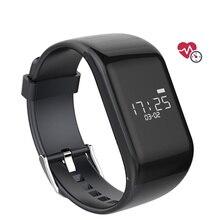 Новый phonewatch R1 Bluetooth Smart Браслет Водонепроницаемый фитнес-трекер монитор сердечного ритма Смарт-браслет группа для Android IOS T0
