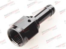 Straight 6AN AN6 AN-6 Female to 3/8″ (10mm) Barb hose Adapter Fitting BLACKAD85002