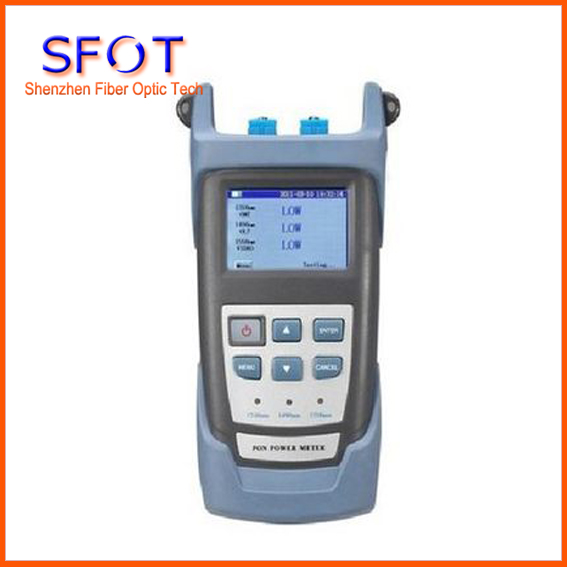 Perfect Quality Optical PON Power Meter SFOT 3201 With Large Screen Display Used in CCTV FTTx