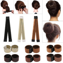 6Colors DIY Tool Hair Accessories Synthetic Wig Donuts Bud H
