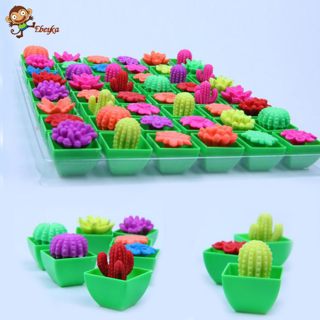 48pcs bubble water expansion expansion pot plants creative toys Strange new toy free shipping