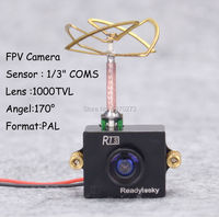 1000TVL CMOS VTX Mini Camera With 5 8G 25mW 48CH Video Transmitter Combo Set FPV For