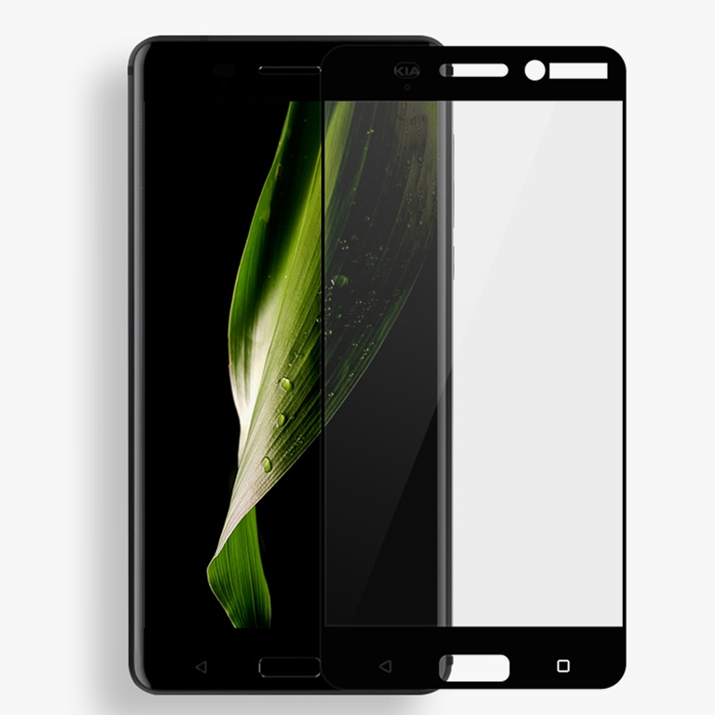 GerTong Full Cover Tempered Glass For Nokia 7 X5 Plus 6 2 <font><b>5</b></font> <font><b>2018</b></font> 1 X6 3 8 7 <font><b>5</b></font> 2 Screen Protector Safety Front Film image
