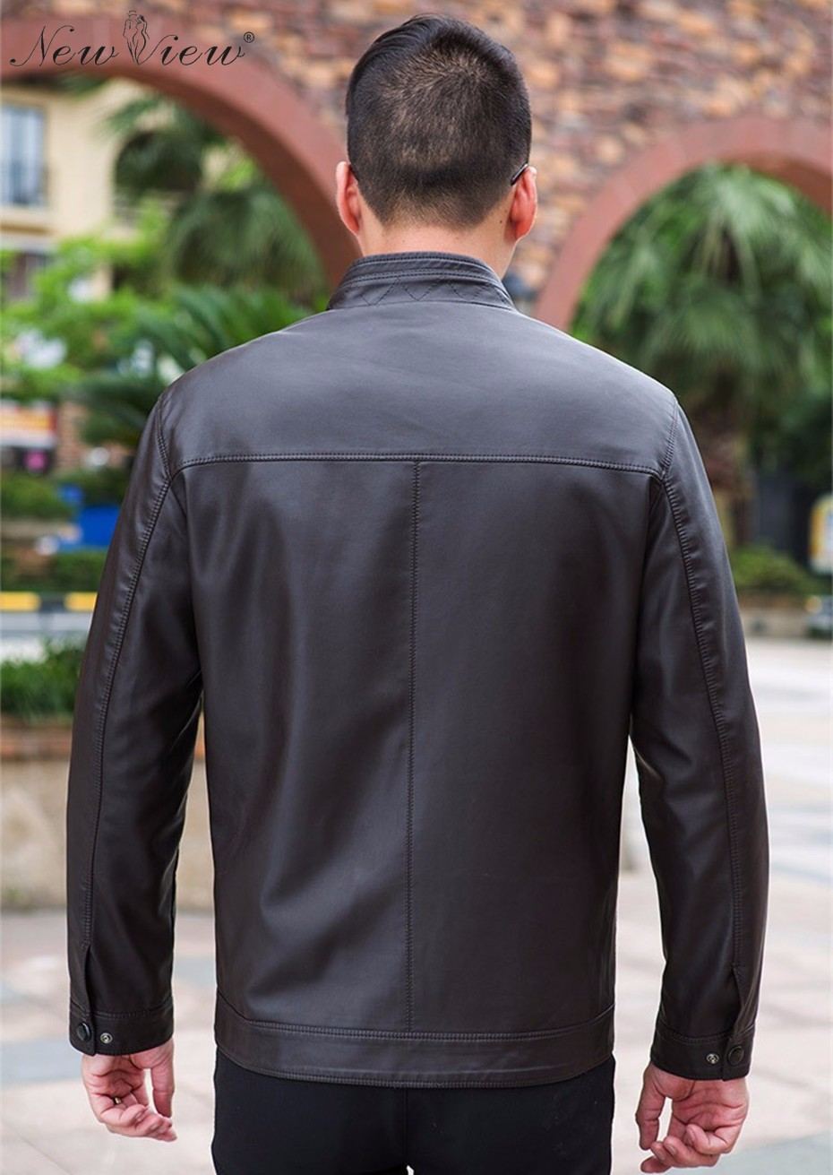 male leather jacket