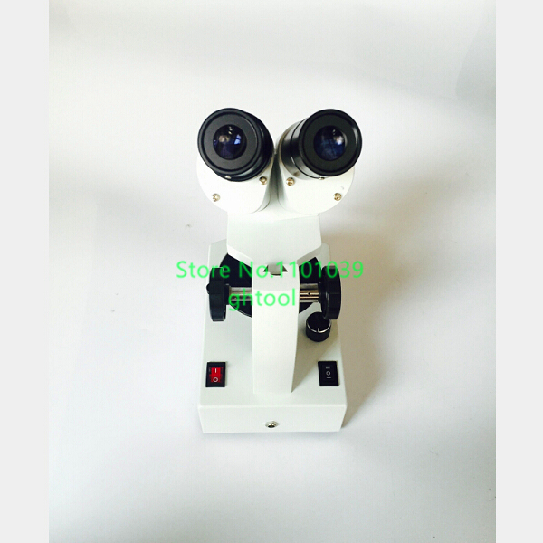 Jewelry Tools 10-30X Gem Microscope Diamond Microscope with Ultra bright LED light source jewelery tools