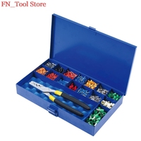 FASEN HS0.5 16PZD Electric tool set press plier terminal crimping pliers terminal ferrules tool kit