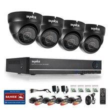 SANNCE 4 CH 960 H HDMI DVR с 800TVL Крытый Открытый ИК Камеры Системы Домашнего Наблюдения