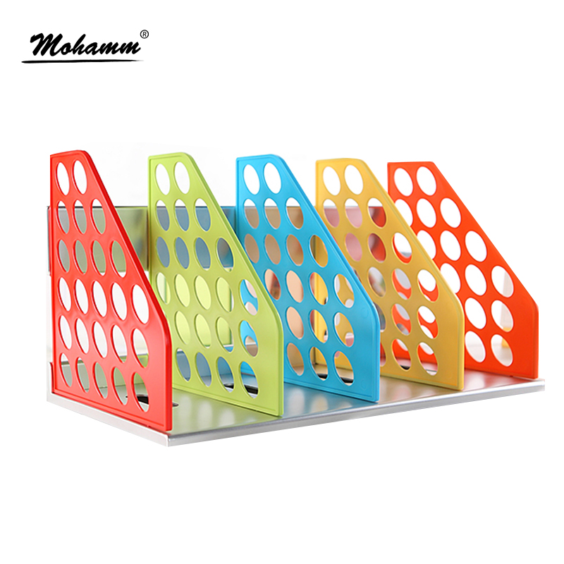 Document Trays Desk Organizer Office Shelves Filing Trays A4 Holder Racks File Plastic