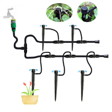 8~10m Garden Hose Micro Drip irrigation system Greenhouse Lawn Garden Irrigation Kit irrigation system greenhouse цена