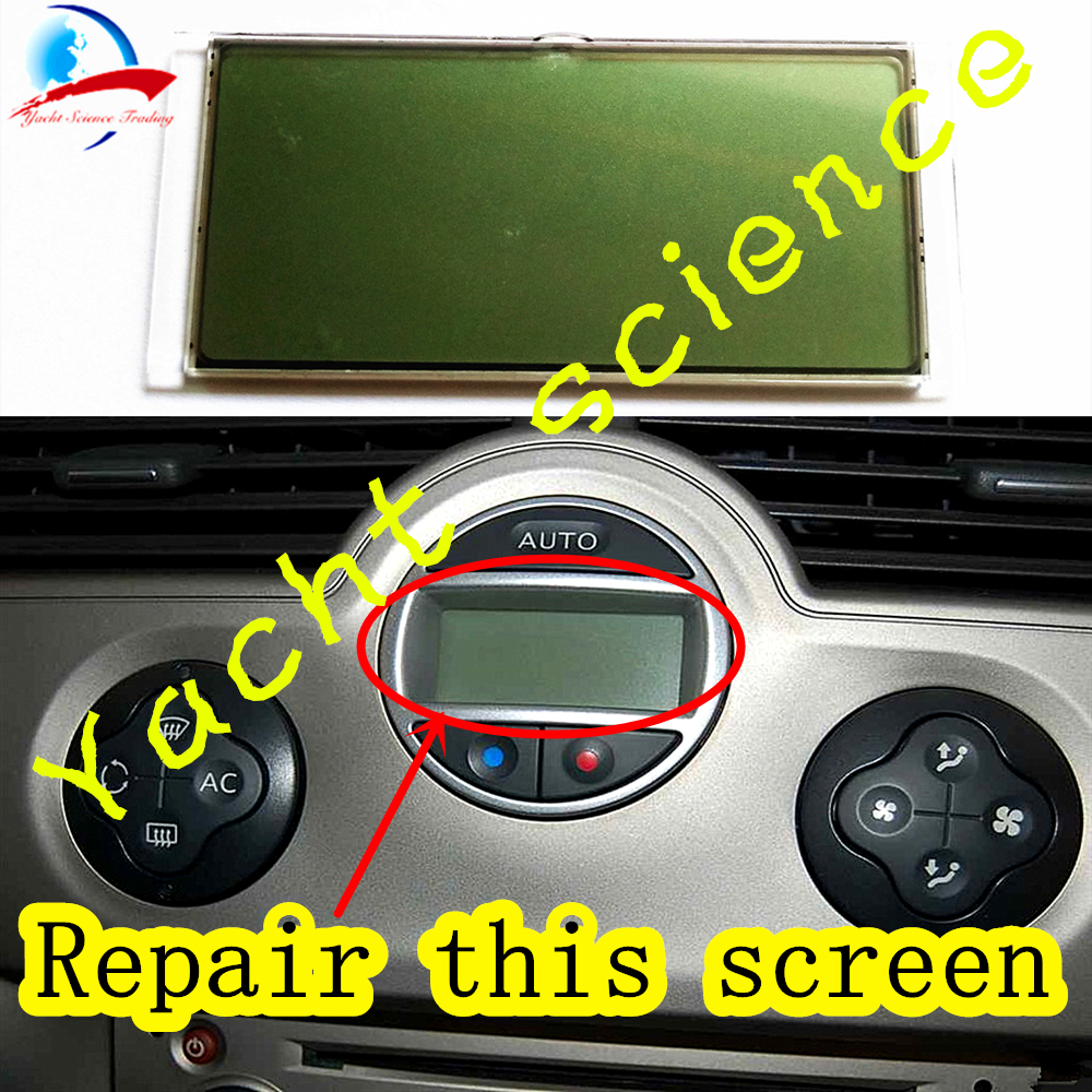 Car Climate Control Panel Air Conditioning Control Unit LCD