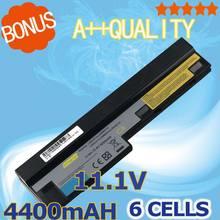 Bateria do Portátil para Lenovo 4400 MAH 11.1 V Ideapad S100 S10-3 S205 S110 U160 S100c S205s U165 L09m6y14 L09s6y14 6 Células
